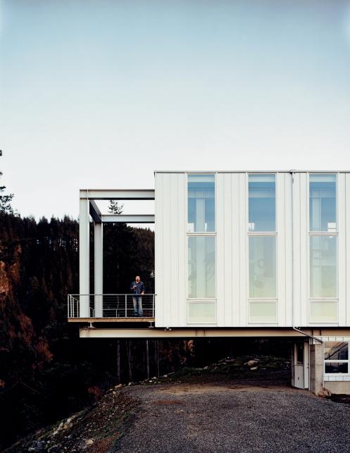 La casa prefabbricata sulla roccia ad un 39 ora da seattle - Ikea casa prefabbricata ...