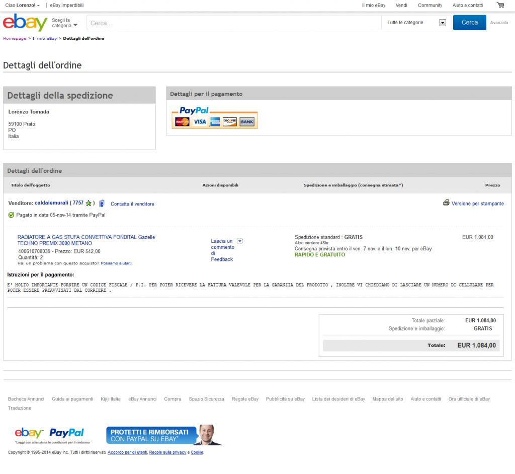 Caldaiemurali-inserzione-Ebay-dettagli-ordine