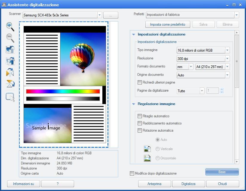 programma per scannerizzare documenti
