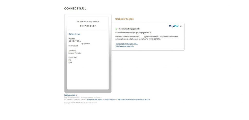 Bismart pagamento4