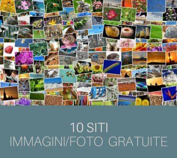 10 siti immagini gratis