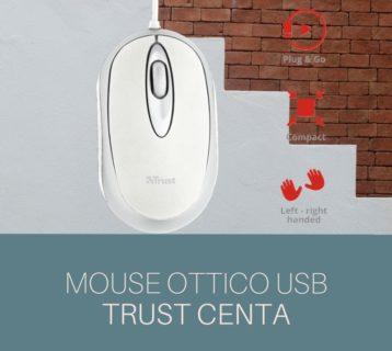 Mouse ottico Trust Centa